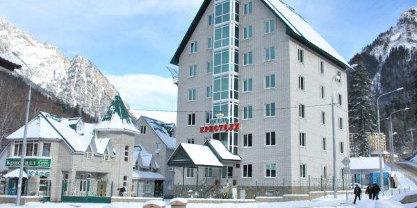 Отель КРИСТАЛЛ Домбай официальный сайт продаж
